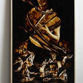 VERBAND-2015-Teer-hinter-Glas-200x125cm