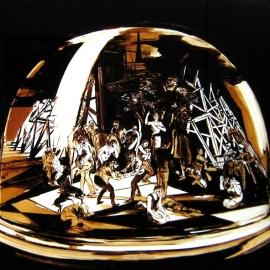 VOR-DER-STADT-2010-Teer-hinter-Glas-165x200cm