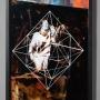 DIE FRAGE 2017, Teer Tusche Lack hinter Glas, 42x32cm